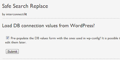 Wordpress Find and Replace 1