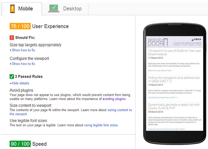 Mobile User Experience Insight Factors